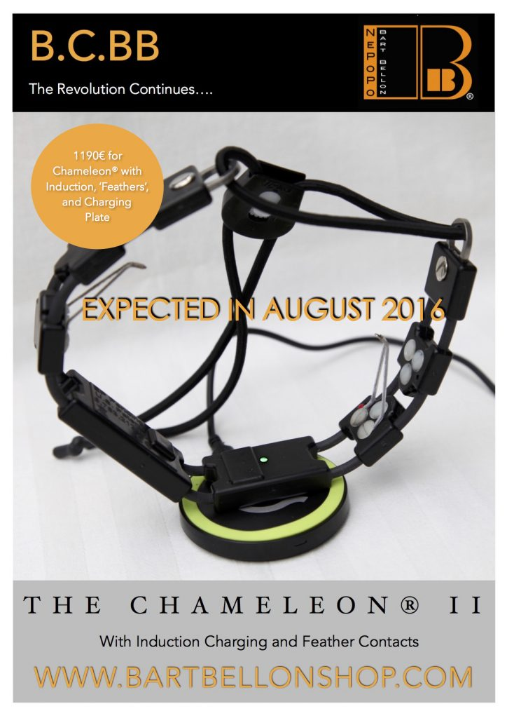 The New Chameleon® II with Induction Charging